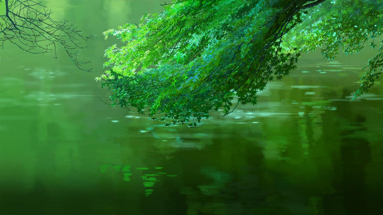 言の葉の庭 美術画集発売記念②滝口比呂志インタビュー